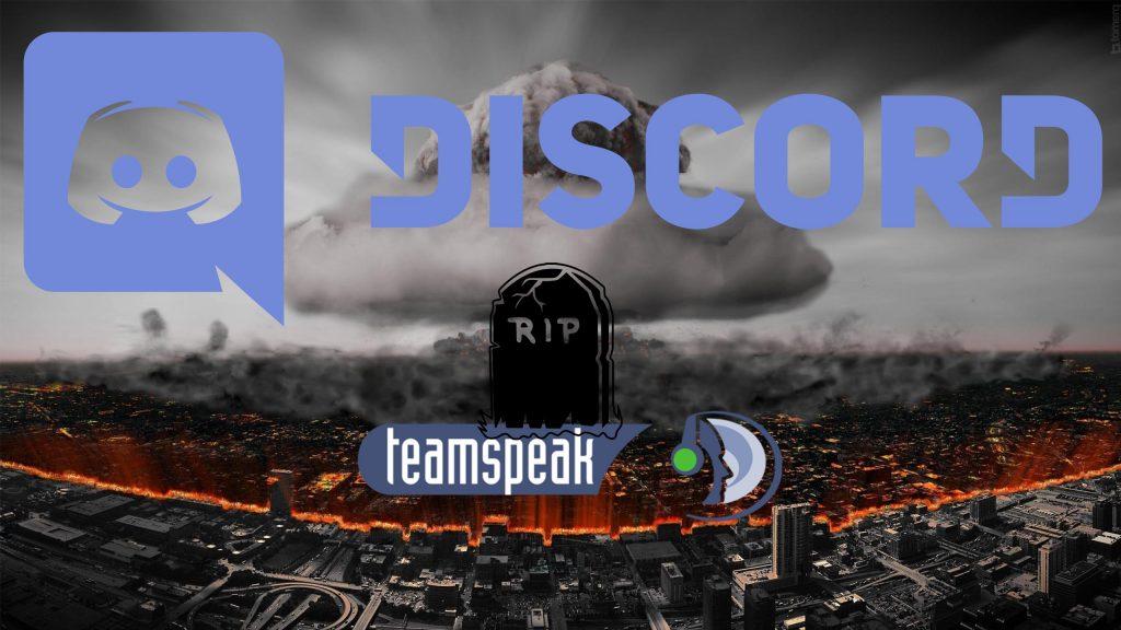 Discord: RIP TeamSpeak